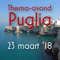 Puglia Thema-avond 23 maart 2018
