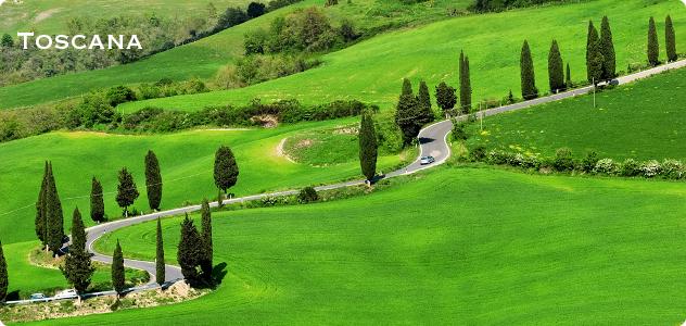 Toscana regio